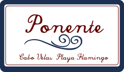 Ponente Cabo Velas Playa Flamingo Logo